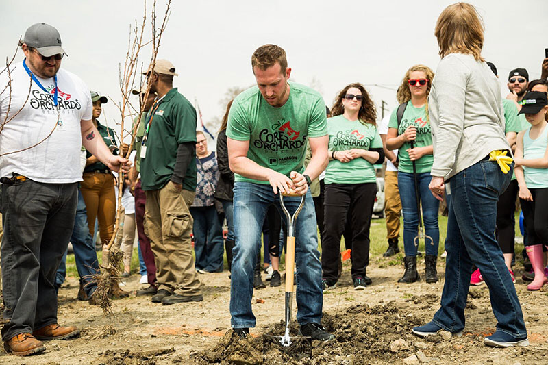 Core Orchards Tree Planting